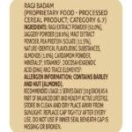 Ragi badam nutrition